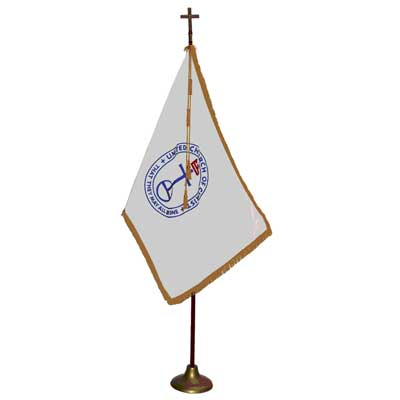 Religious Indoor Flagpole Sets