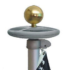 Solar LED Flagpole Light FixtureFlagpole Light Fixture   120 Volt   Patriot Colors. Flag Pole Led Light Fixtures. Home Design Ideas