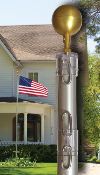 Telescoping Aluminum Flagpoles