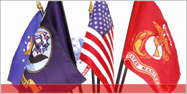 Military Flags - 100% American Made Quality